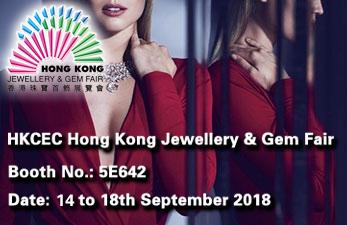 2018 September hongkong Schmuckmesse